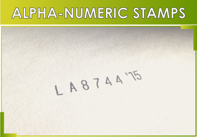 ALPHA-NUMERIC-STAMPS